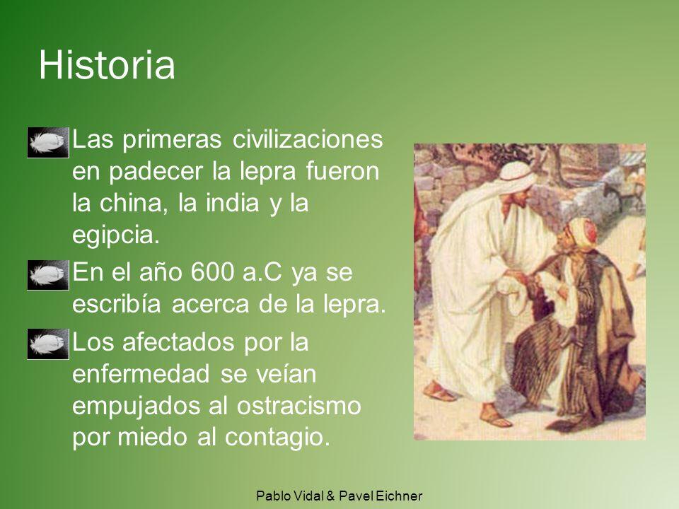 Historia Las primeras civilizaciones en padecer la lepra fueron la china, la india y la egipcia.