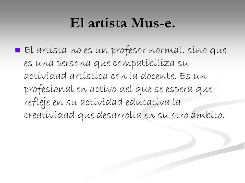 El artista Mus-e.