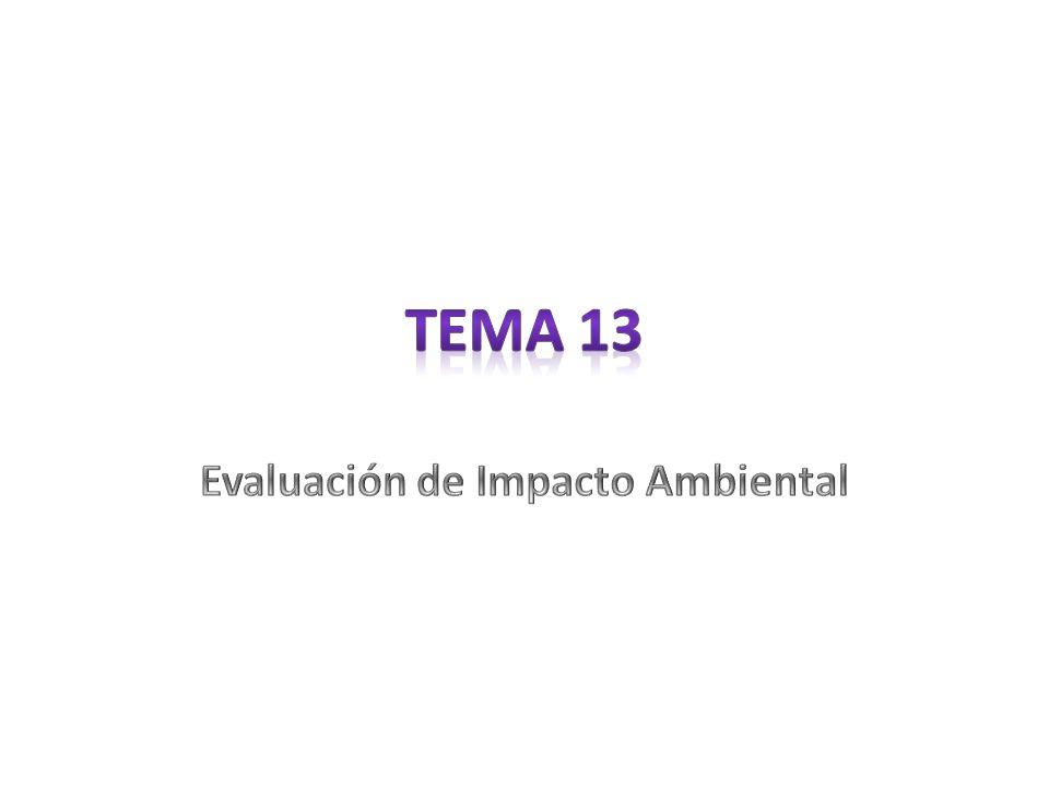 Método de identificación del impacto de una industria petroquímica sobre los factores del medio físico.