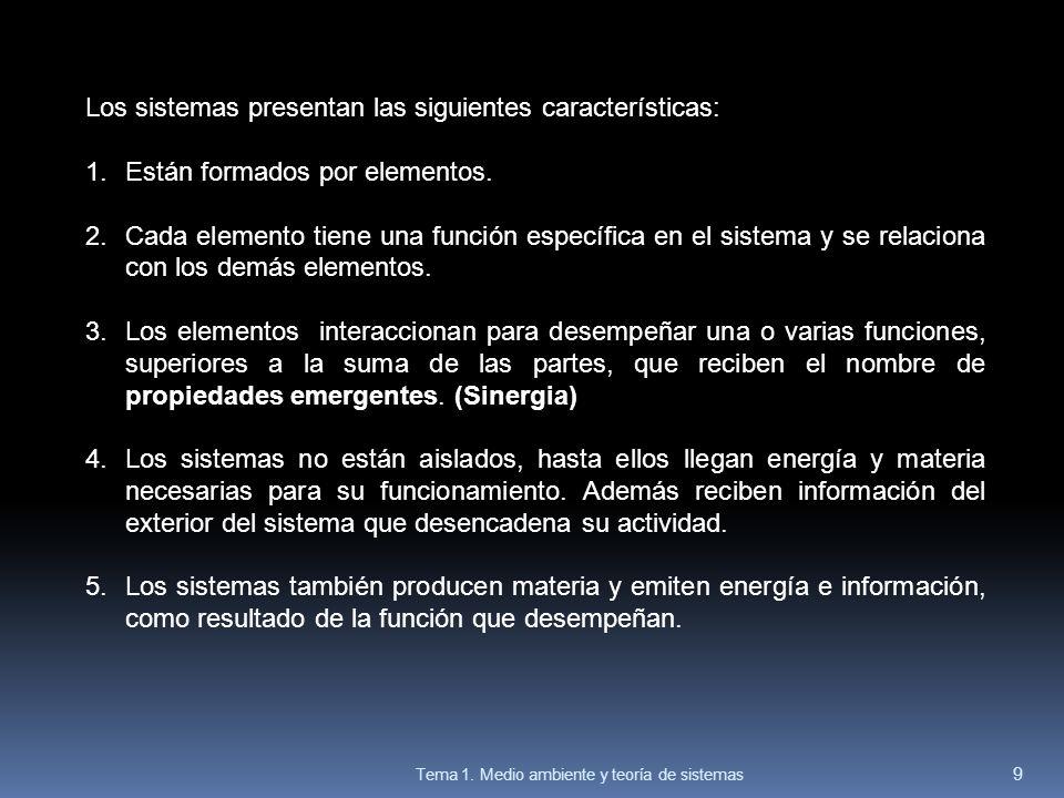 La representación de los sistemas.Los modelos Los sistemas suelen representarse mediante modelos.