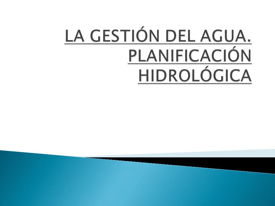El progresivo incremento de la demanda de agua se traduce normalmente en un aumento de la extracción del agua, tanto subterránea como superficial.