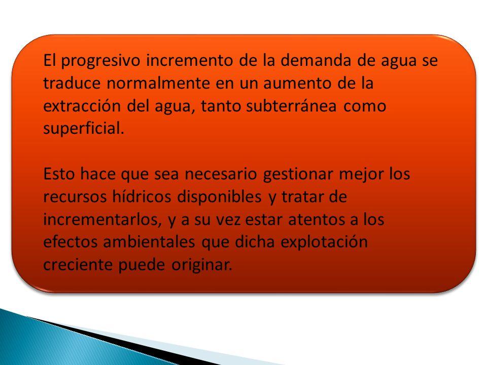 La planificación se realizará mediante los Planes Hidrológicos de Cuenca y el Plan Hidrológico Nacional.