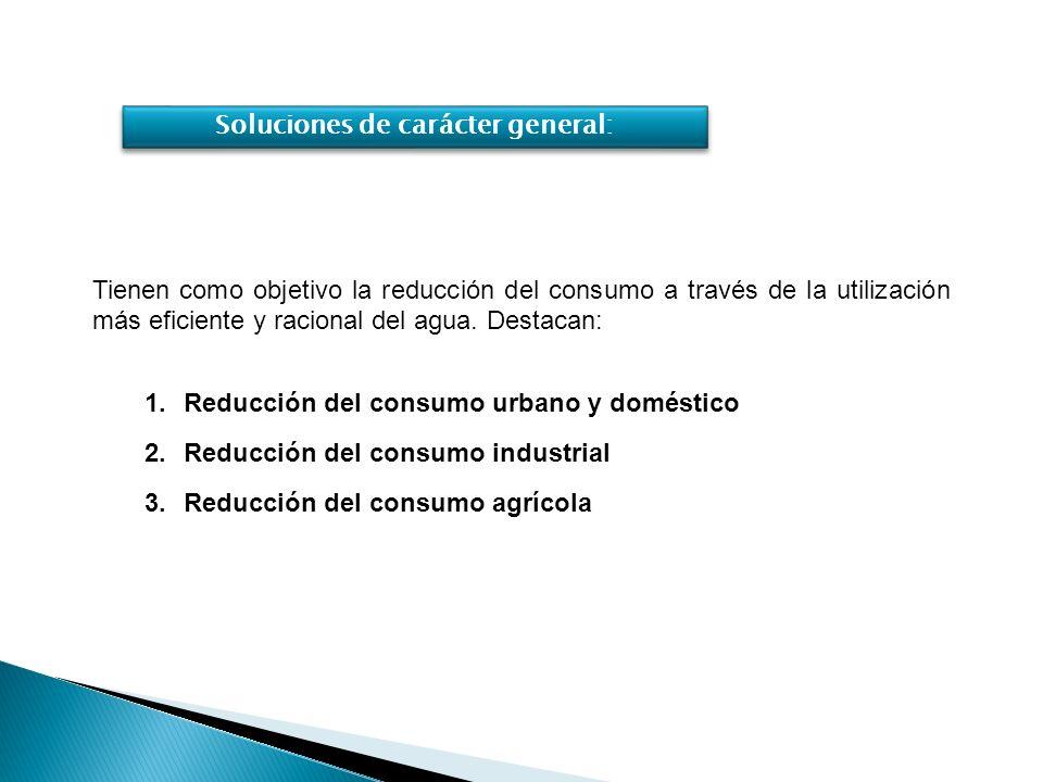 Instalaciones y electrodomésticos de bajo consumo de agua.