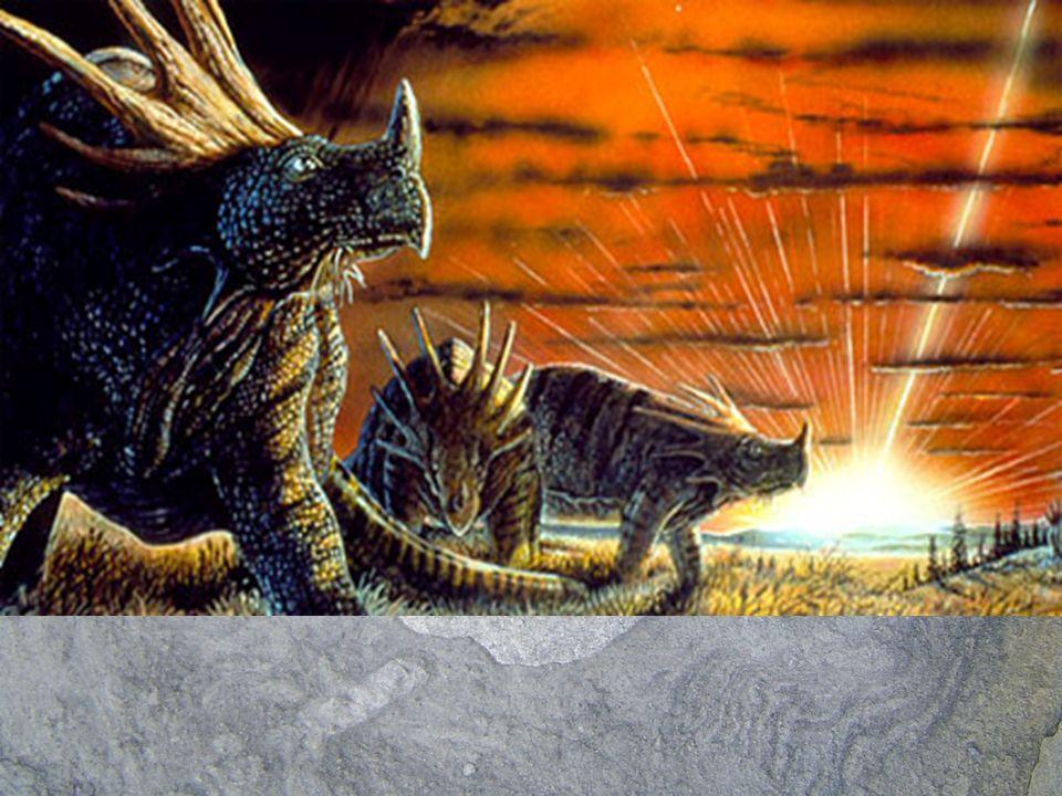 ¿Cómo se supo que la causa de extinción de los dinosaurios se debió a la caída de un asteroide.