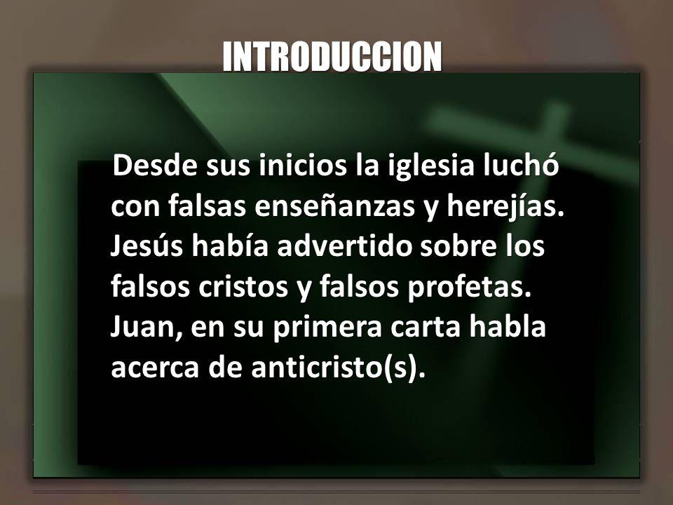 II.PERMANECER EN LA LUZ 1. Ungidos por el E. Santo a.