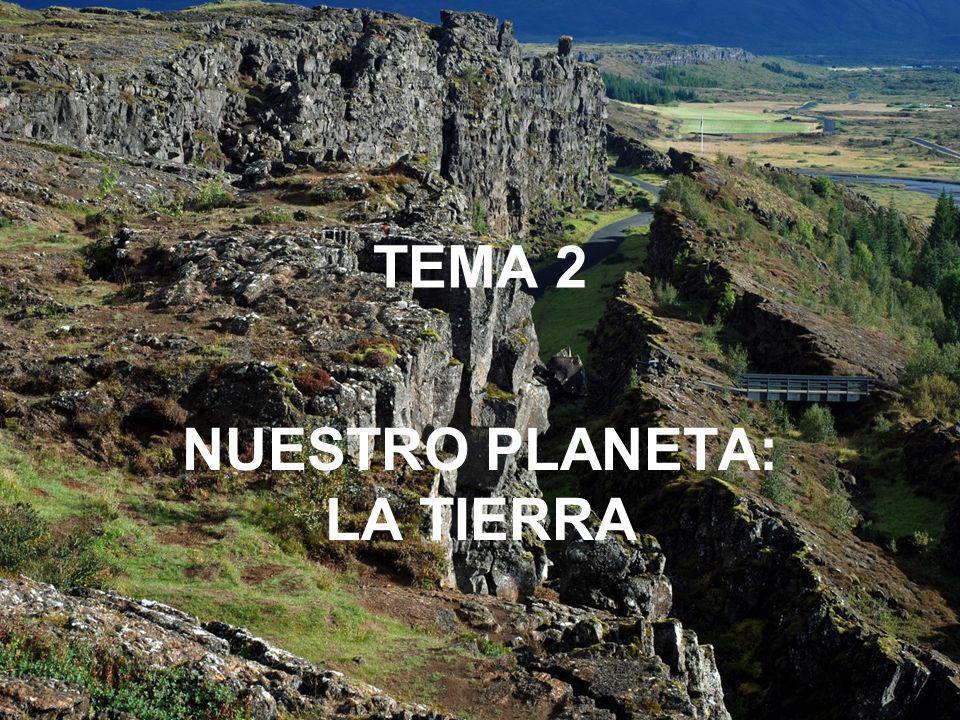TEMA 2 NUESTRO PLANETA: LA TIERRA