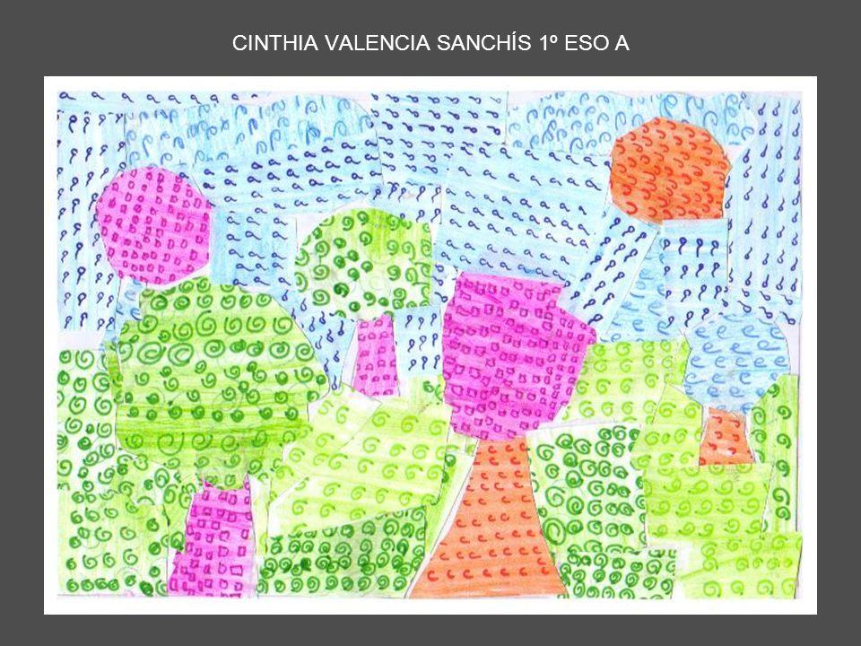 CINTHIA VALENCIA SANCHÍS 1º ESO A