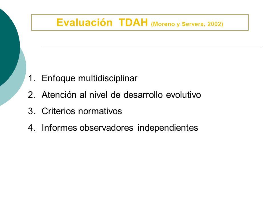 Diagnóstico Diferencial Trastornos del Comportamiento TND, TD Trastornos y problemas específicos de aprendizaje Trastornos de Ansiedad Trastornos Afec