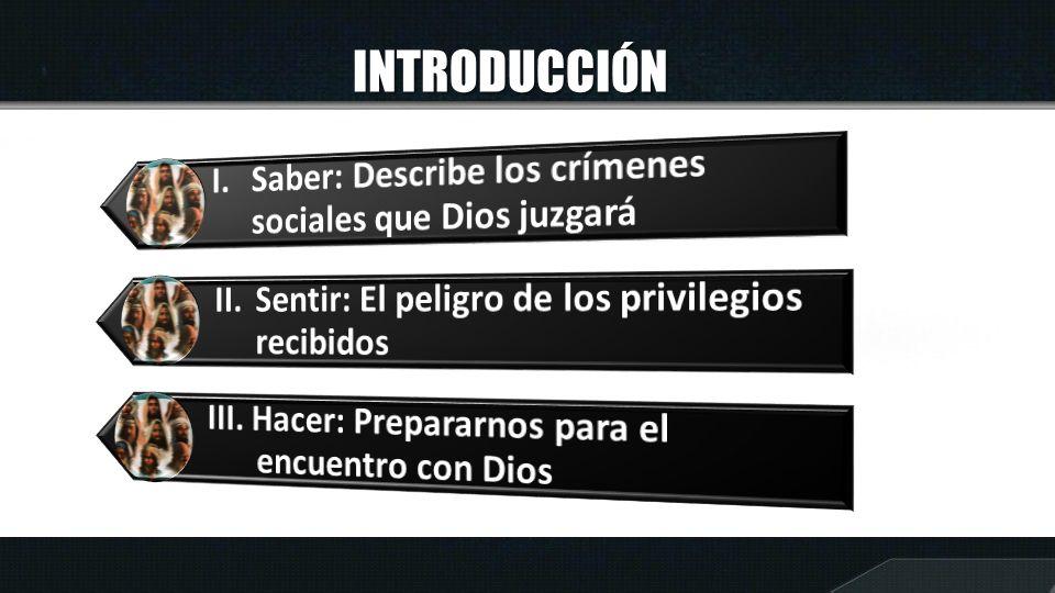 I.DIOS JUZGA LOS CRÍMENES Según Amos 1:9 ¿Qué delitos condena Dios de los gobernantes.