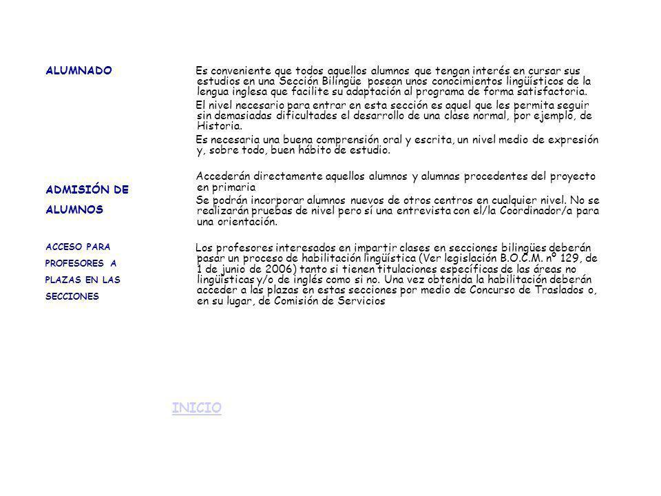 22/FEBRERO/04: Instrucciones de la Viceconsejería de educación para el desarrollo de las enseñanzas en las Secciones Linguísticas.