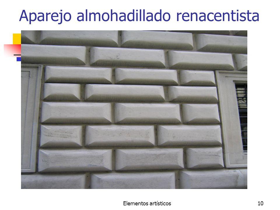 Elementos artísticos10 Aparejo almohadillado renacentista
