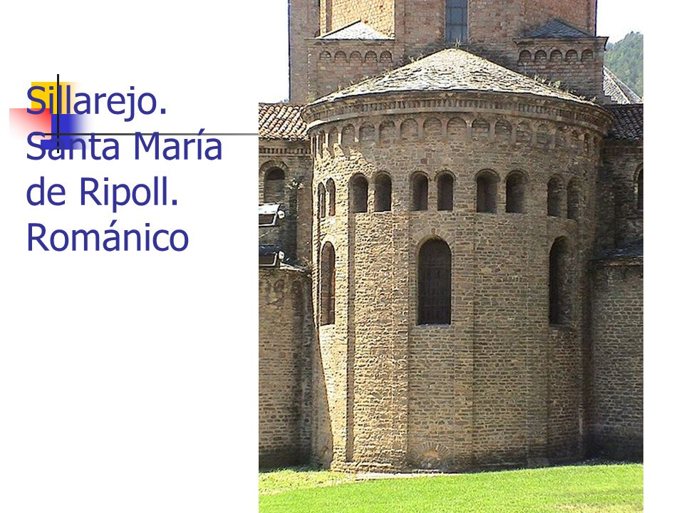 Elementos artísticos11 Sillarejo. Santa María de Ripoll. Románico