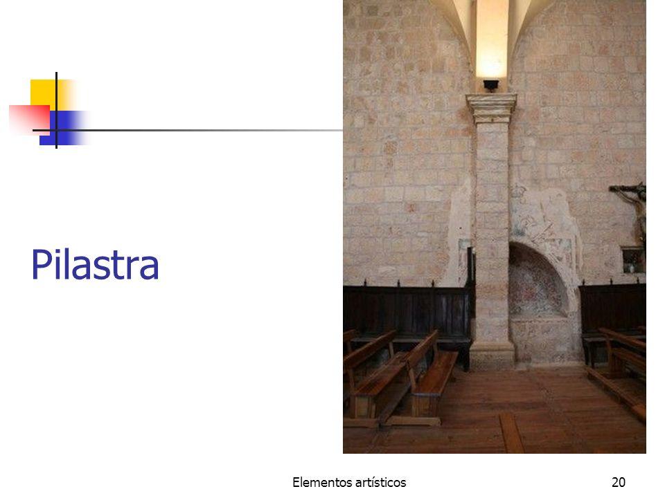 Elementos artísticos20 Pilastra