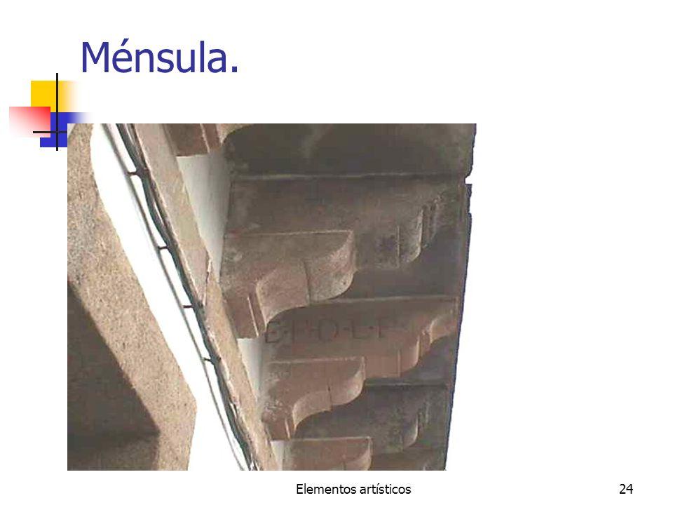 Elementos artísticos24 Ménsula.