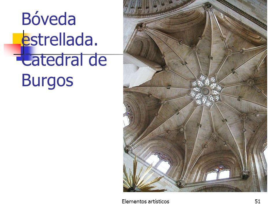 Elementos artísticos51 Bóveda estrellada. Catedral de Burgos