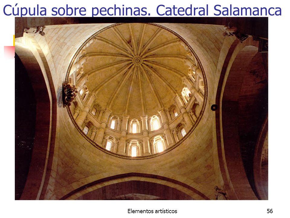 Elementos artísticos56 Cúpula sobre pechinas. Catedral Salamanca