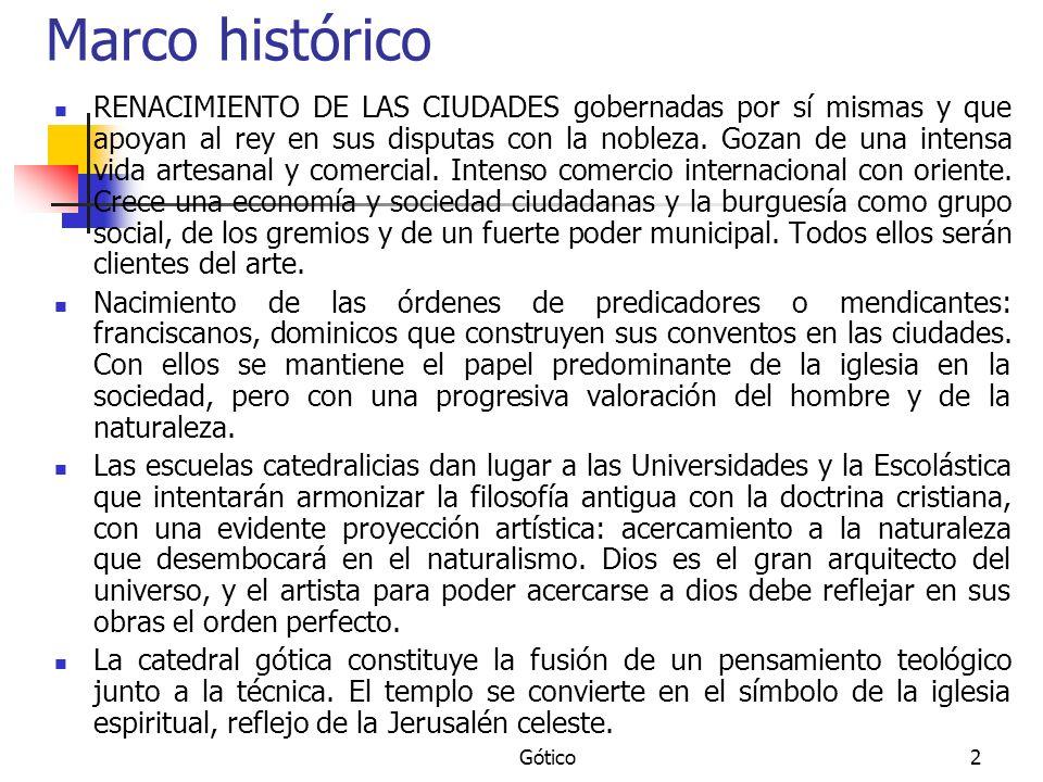 Gótico43 Gótico Tardío.Mediterráneo S. XIV. Área: Cataluña y Baleares.
