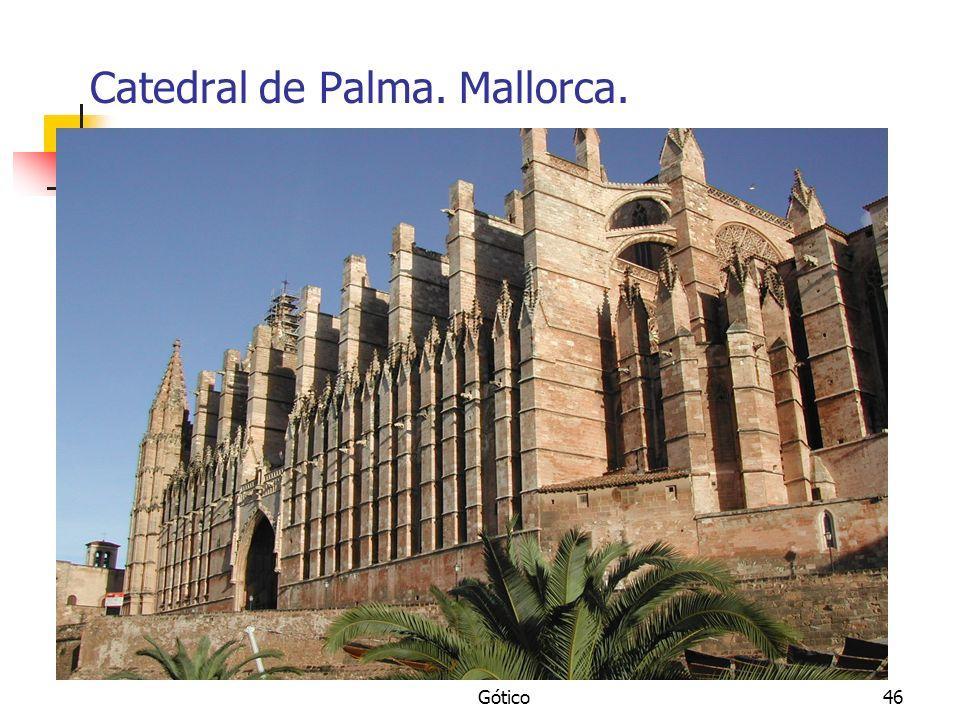 Gótico46 Catedral de Palma. Mallorca.