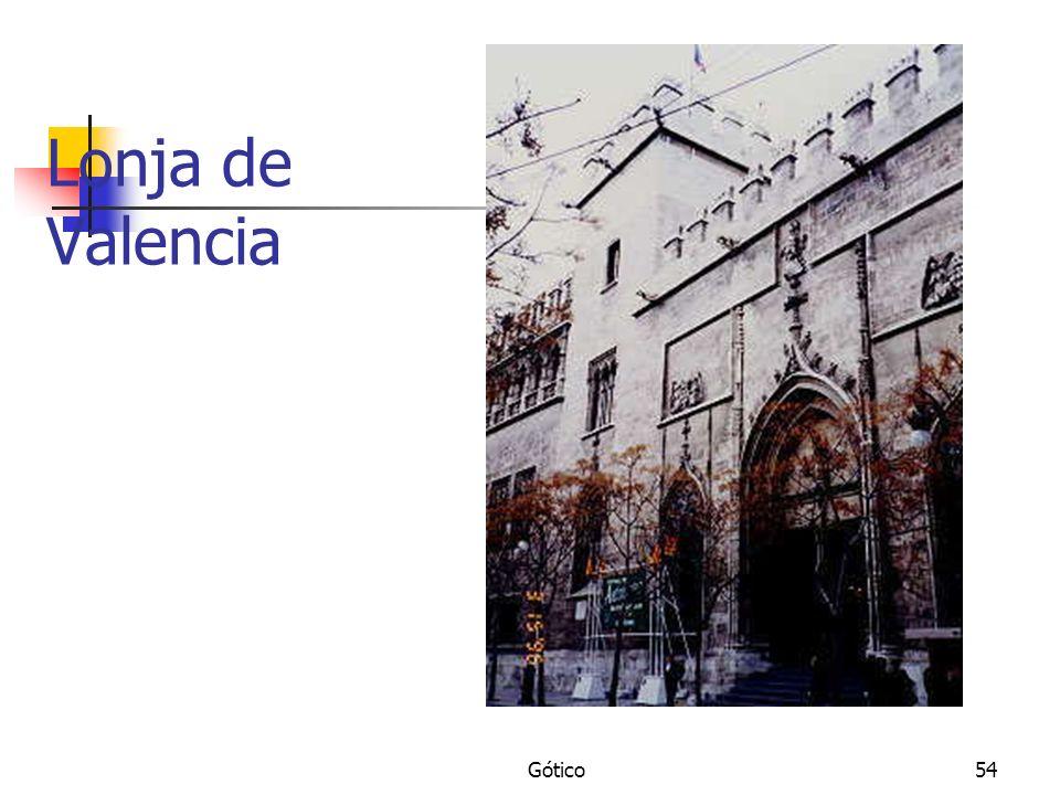 Gótico54 Lonja de Valencia