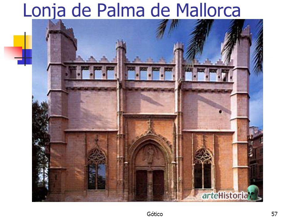 Gótico57 Lonja de Palma de Mallorca