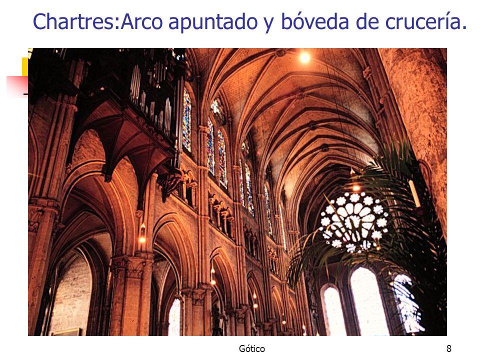 Gótico39 Catedral de León.Planta. Susutituye a la catedral románica.