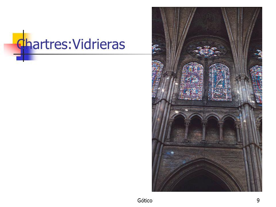 Gótico9 Chartres:Vidrieras