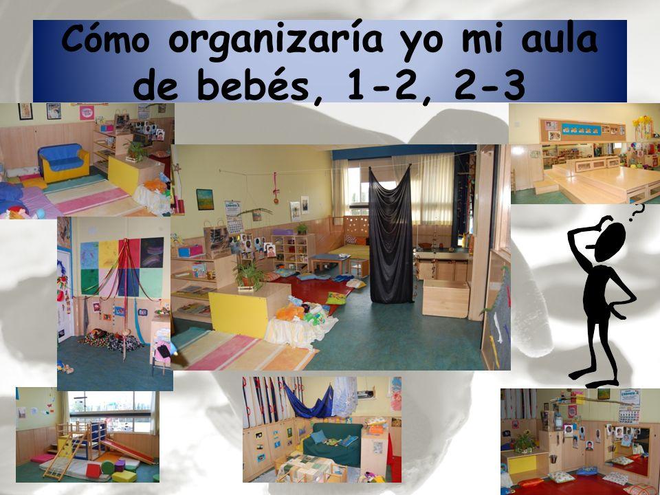Cómo organizaría yo mi aula de bebés, 1-2, 2-3