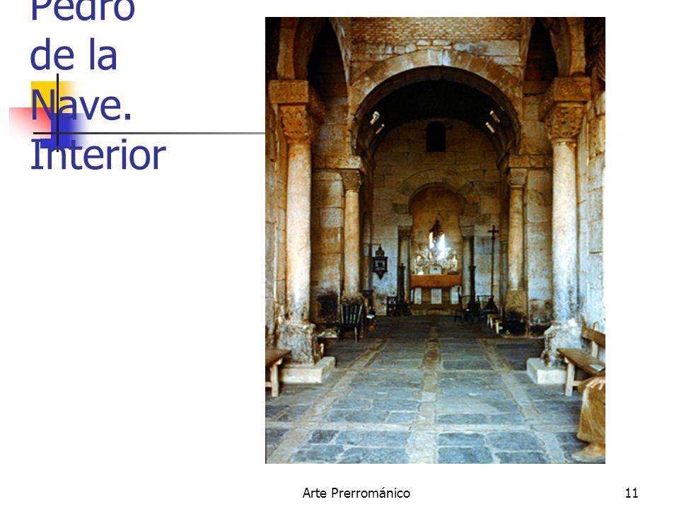 Arte Prerrománico11 San Pedro de la Nave. Interior