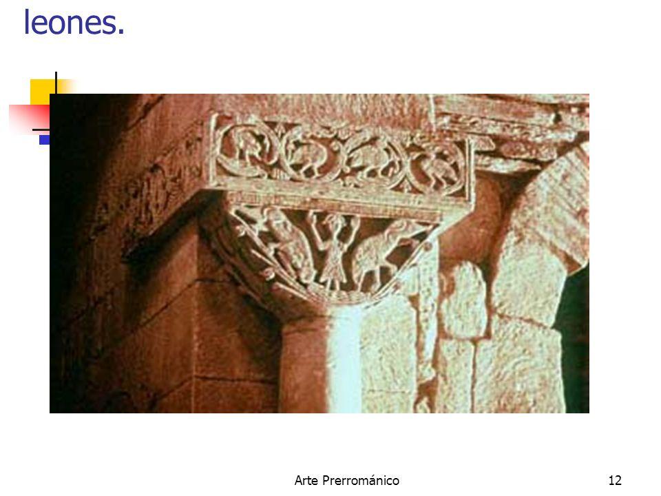 Arte Prerrománico12 San Pedro de la Nave. Daniel entre los leones.