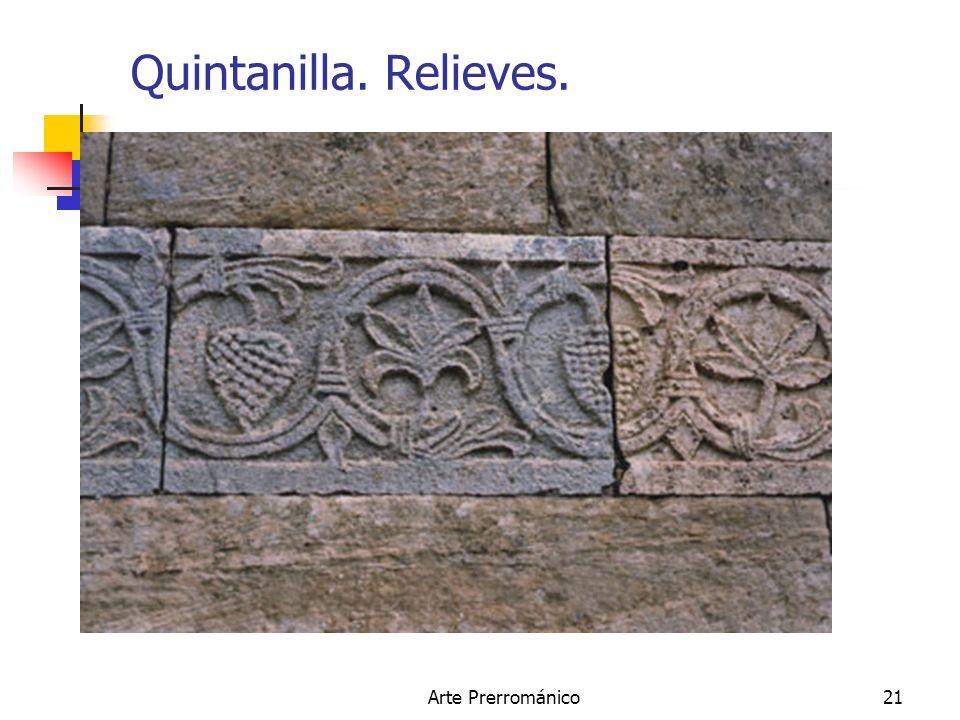 Arte Prerrománico21 Quintanilla. Relieves.