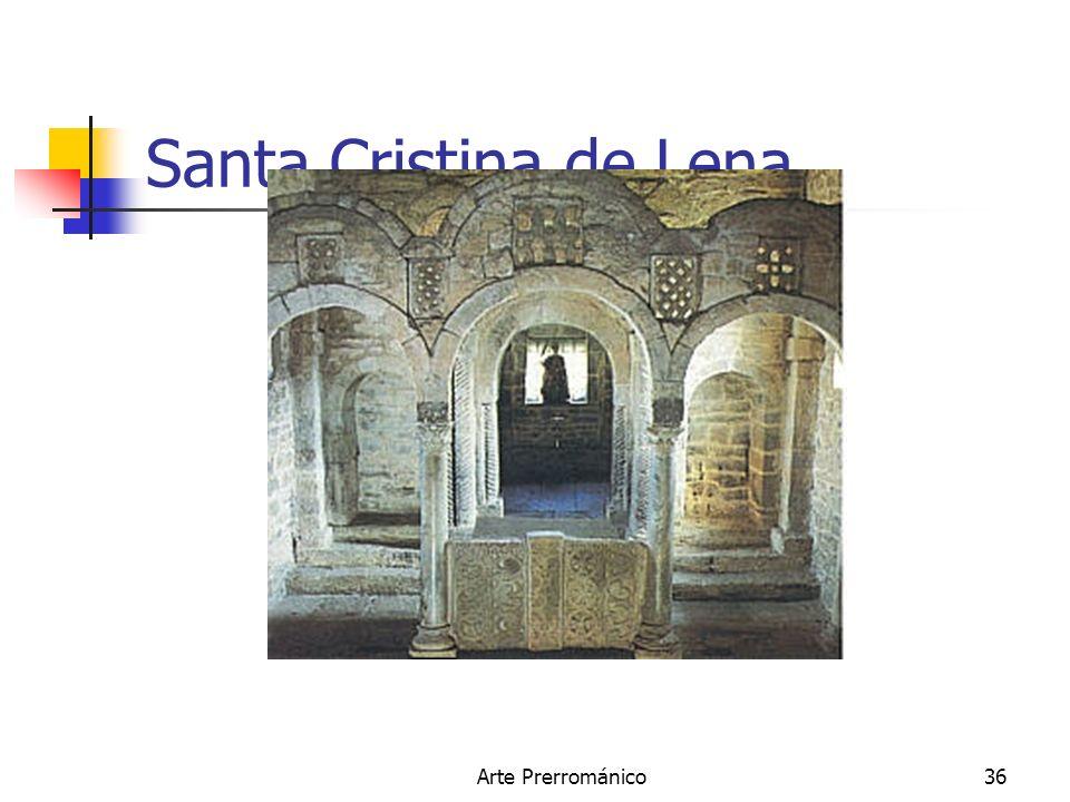 Arte Prerrománico36 Santa Cristina de Lena.