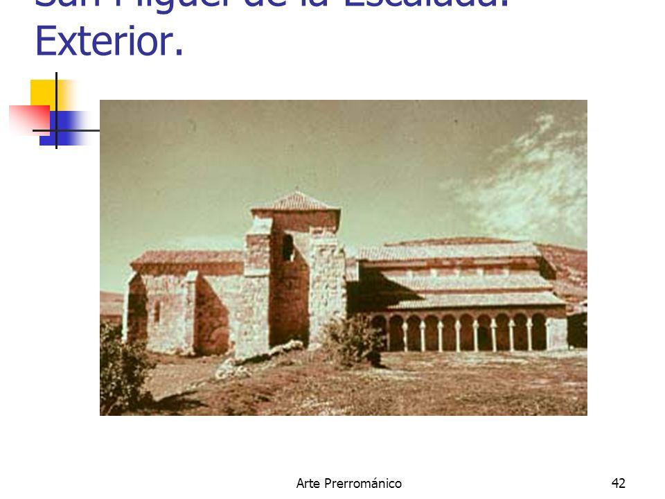 Arte Prerrománico42 San Miguel de la Escalada. Exterior.