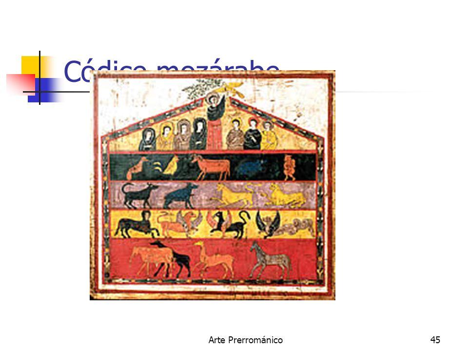 Arte Prerrománico45 Códice mozárabe.