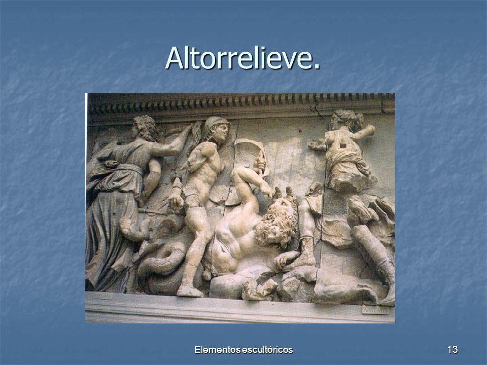 Elementos escultóricos13 Altorrelieve.