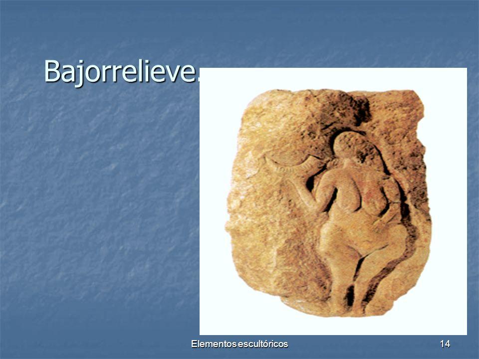 Elementos escultóricos14 Bajorrelieve.