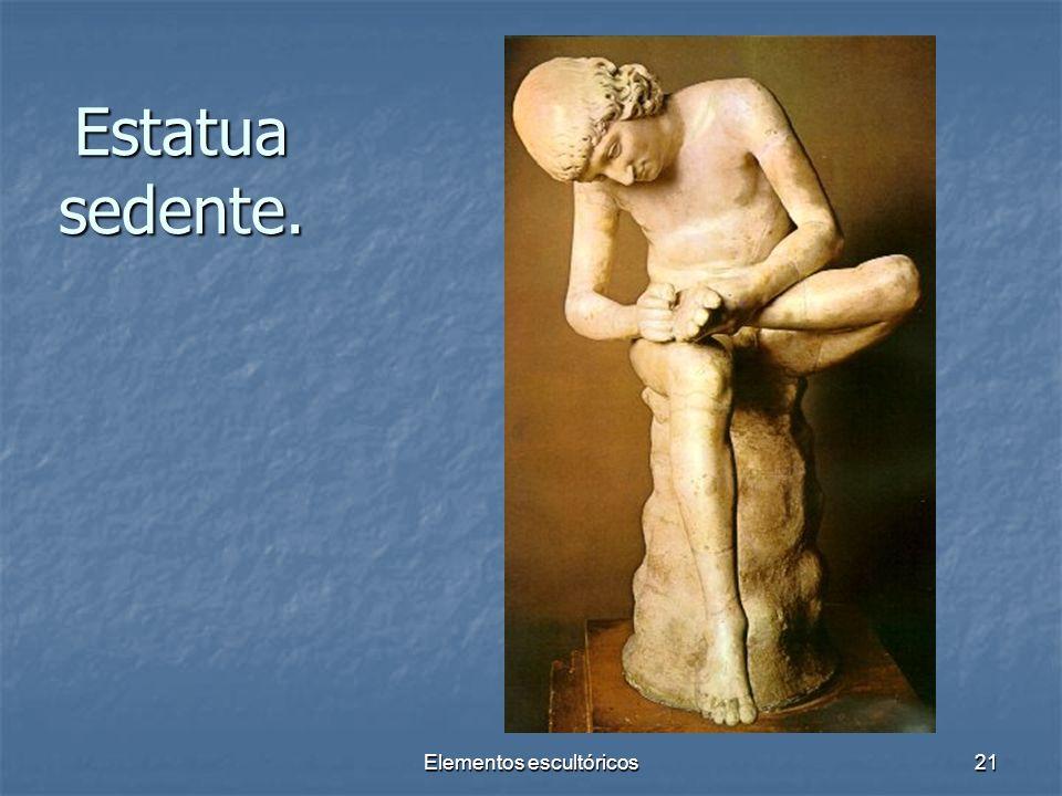 Elementos escultóricos21 Estatua sedente.