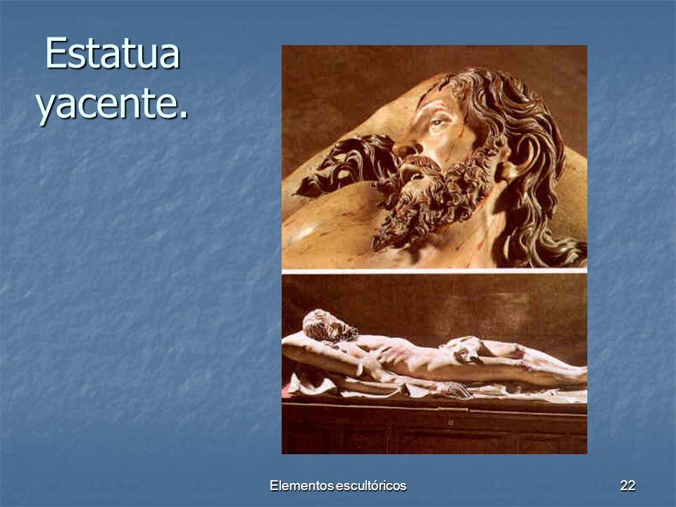 Elementos escultóricos22 Estatua yacente.