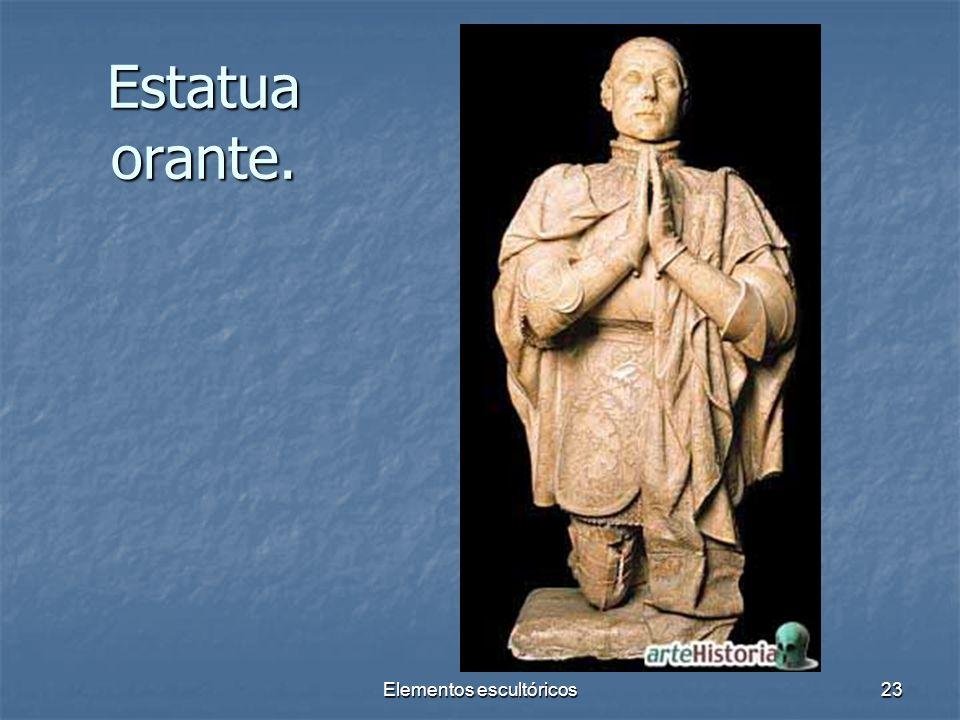 Elementos escultóricos23 Estatua orante.