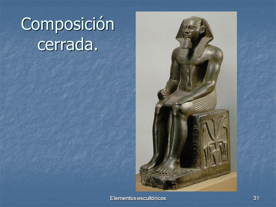 Elementos escultóricos31 Composición cerrada.