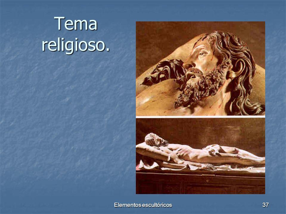 Elementos escultóricos37 Tema religioso.
