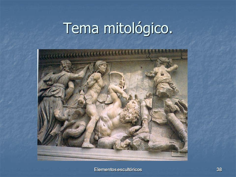 Elementos escultóricos38 Tema mitológico.