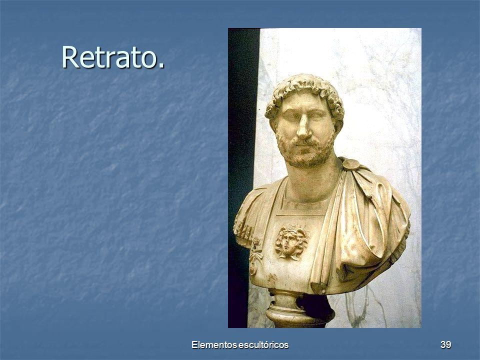 Elementos escultóricos39 Retrato.