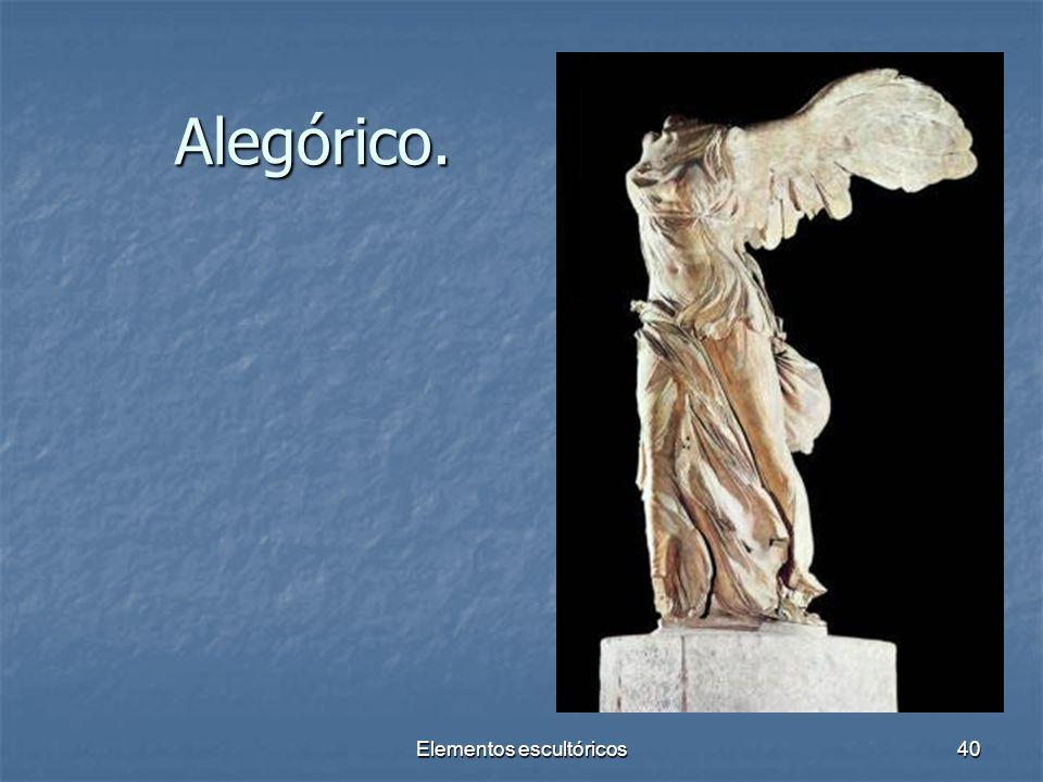 Elementos escultóricos40 Alegórico.
