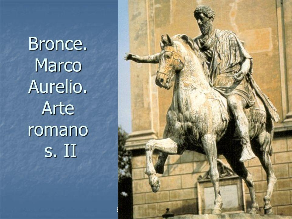 Elementos escultóricos7 Bronce. Marco Aurelio. Arte romano s. II