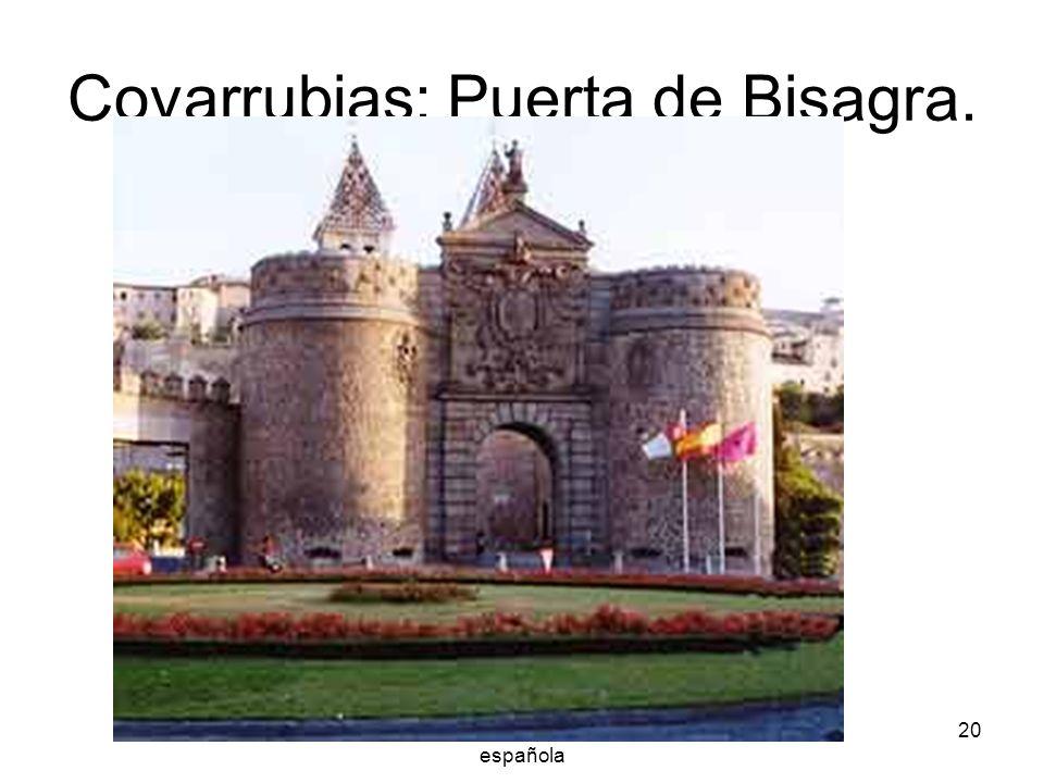 Arquitectura renacentista española 20 Covarrubias: Puerta de Bisagra.