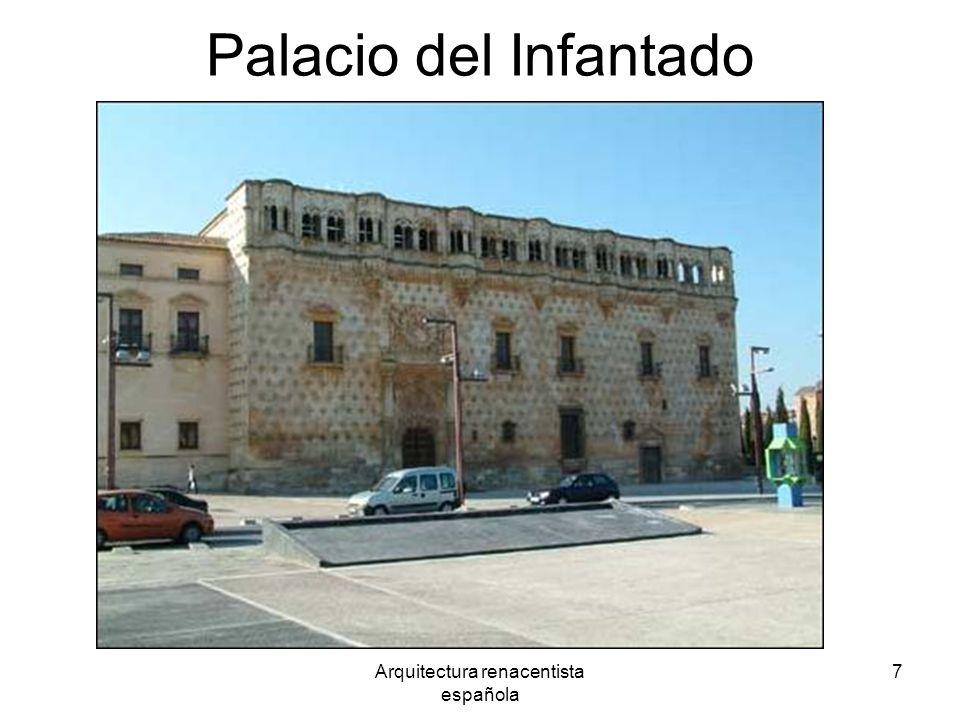 Arquitectura renacentista española 7 Palacio del Infantado Guadalajara