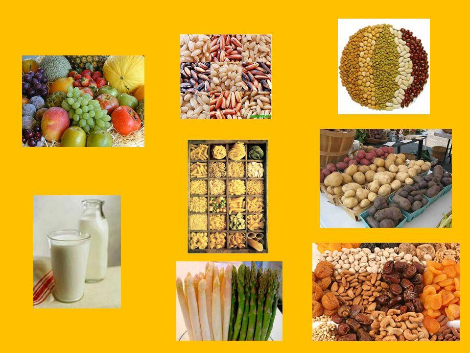 Carbohidratos Son: de origen vegetal de origen animal Funciones: energética reguladora No son imprescindibles Son necesarios 60% de calorías totales Acumulación de glucosa DIABETES