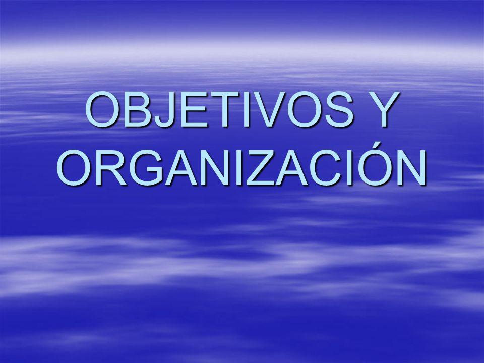 II. CALIDAD DE ENSEÑANZA LÍNEAS DE ACTUACIÓN ORGANIZACIÓN DEL CENTRO OBJETIVOS
