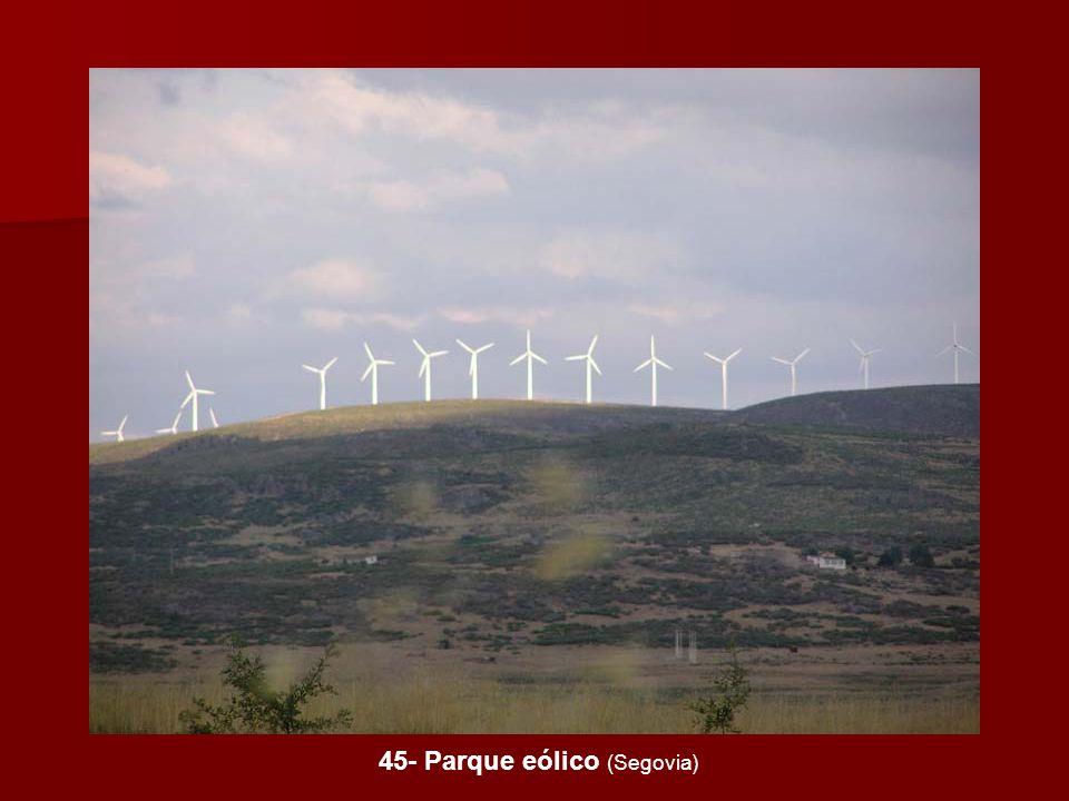 45- Parque eólico (Segovia)