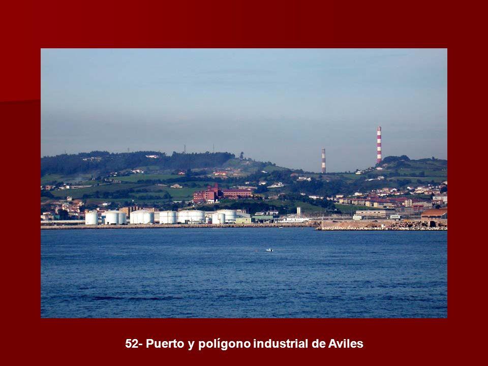 52- Puerto y polígono industrial de Aviles
